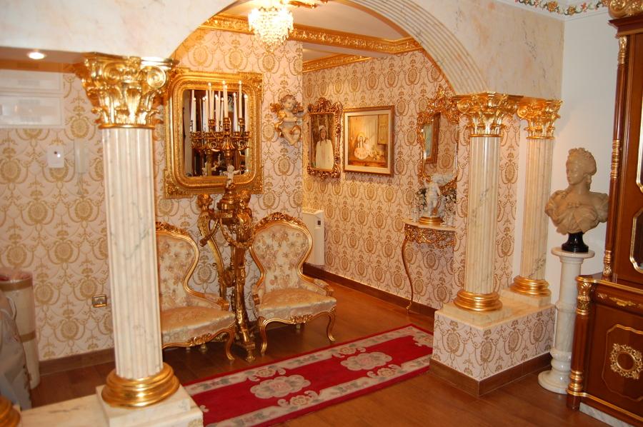 Casa barroca con fusión vintage