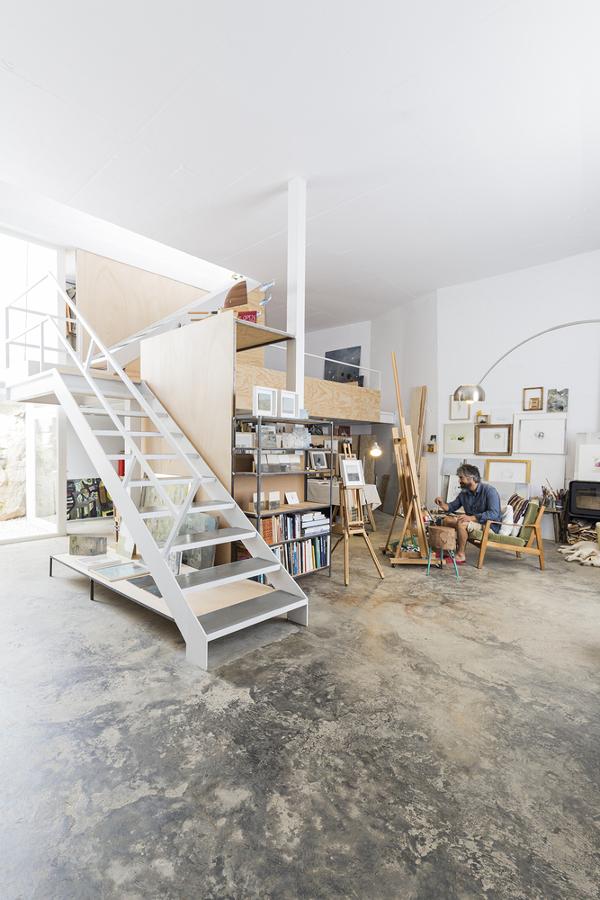 casa con taller