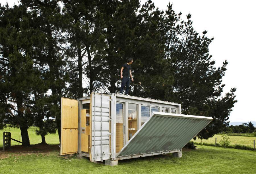 15 contenedores para vivir de forma alternativa ideas - Casa hecha con contenedores ...