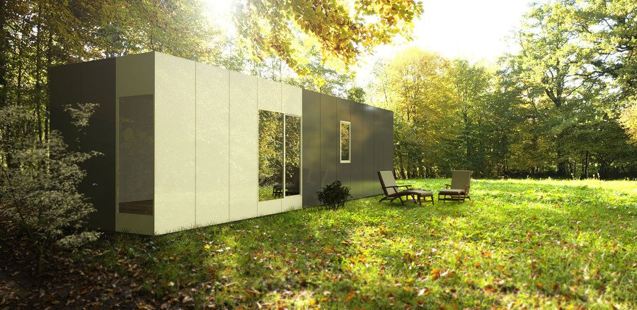 Cube basic de 36 m2 ideas construcci n casas prefabricadas - Cube casas prefabricadas ...