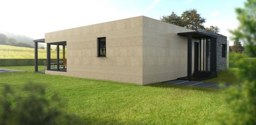 Casa cube de 150 m2 ideas construcci n casas prefabricadas - Casas prefabricadas cube ...