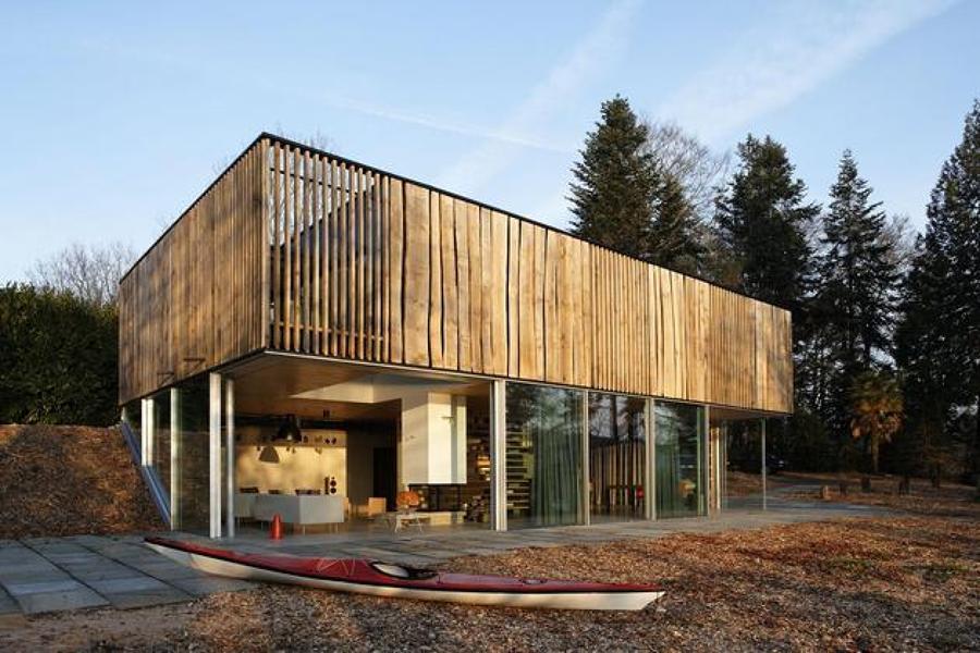 casa de madera eco