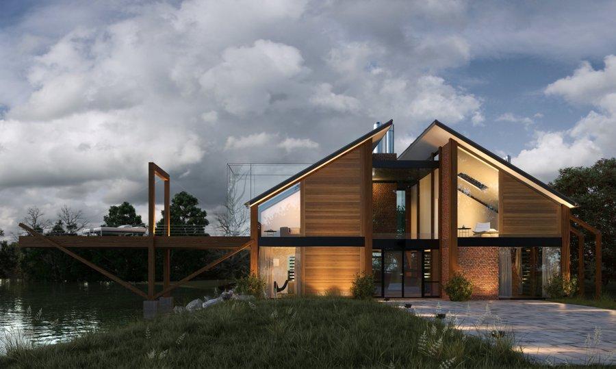 casa de madera ecológica