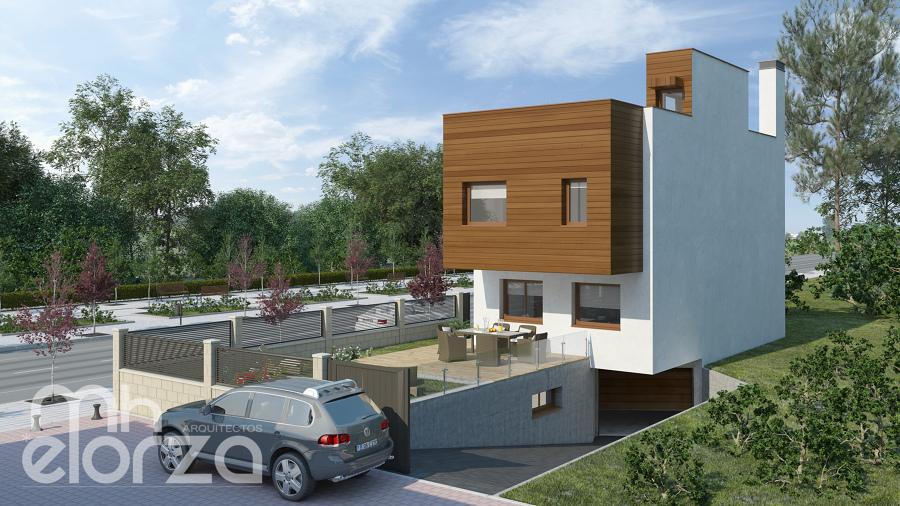 Casa de madera - biopasiva (Madrid)