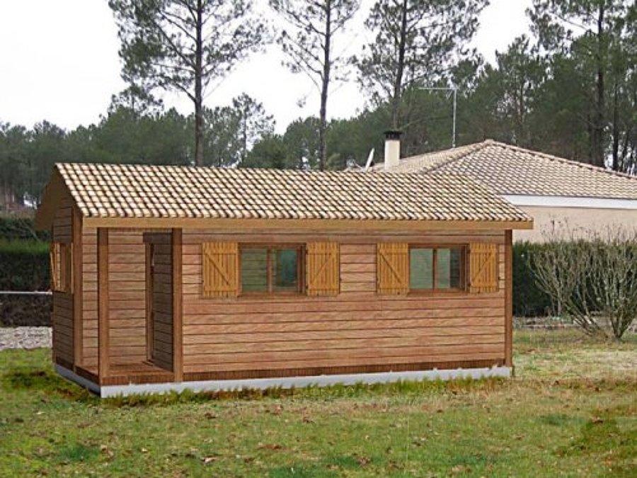 Techos p rgolas casetas casas de madera ideas - Como hacer una casa prefabricada ...