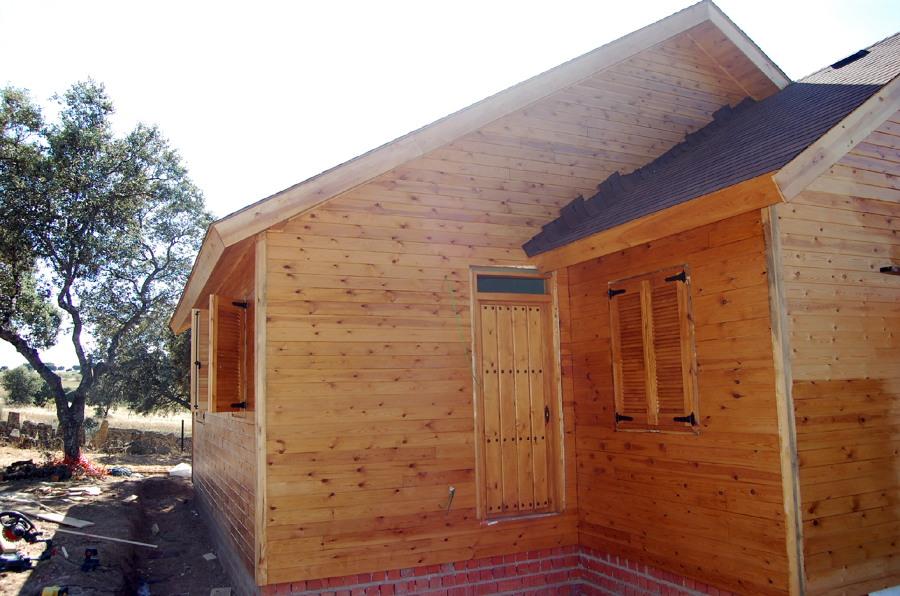 Foto casa de madera de reformad 433060 habitissimo - Casas de madera zaragoza ...
