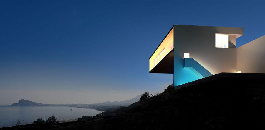 Casa del acantilado 1