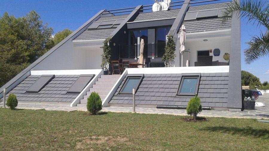 Casa del Arquitecto - Fachada jardín
