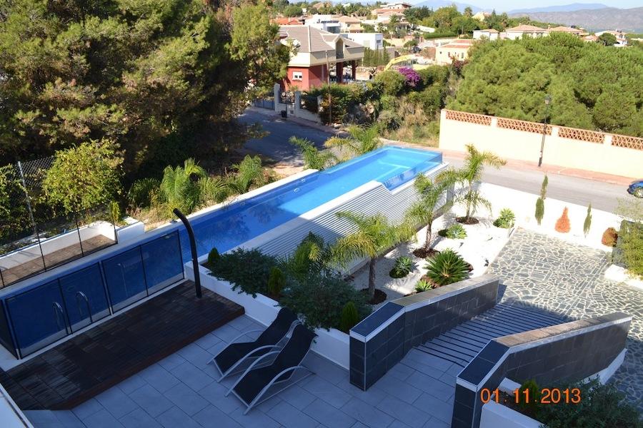 Foto casa del arquitecto vista desde la azotea de for La azotea de la casa de granada