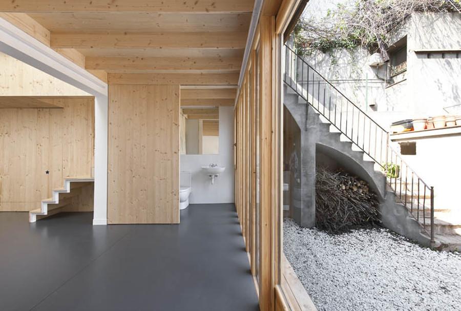 Casa eficiente de madera