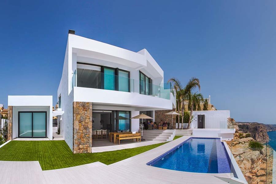 5 casas deslumbrantes frente al mar ideas construcci n casas - Casa del mar alicante ...