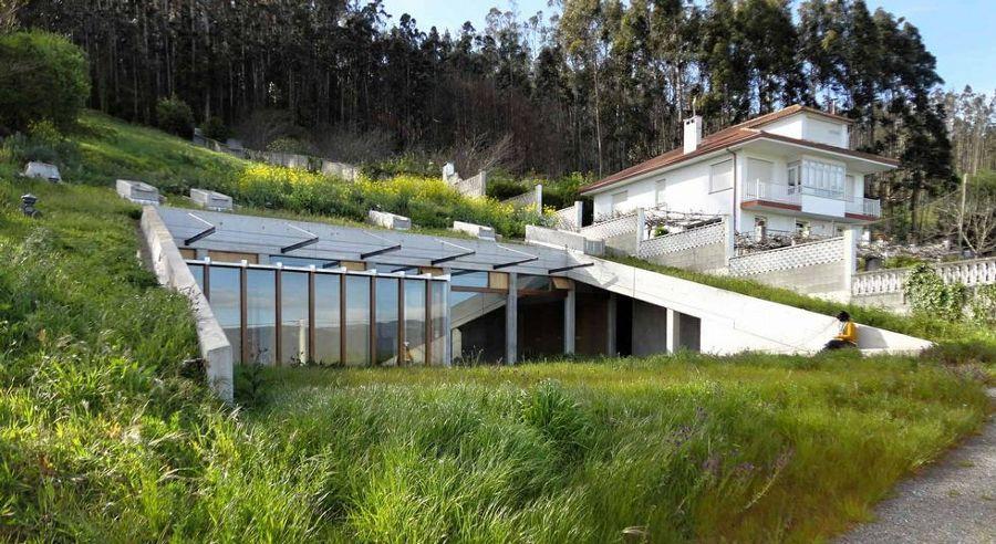 11 casas bajo tierra con mucho encanto ideas - Casas en galicia ...