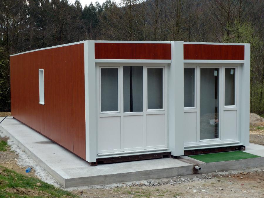 Contenhouse casa con contenedores maritimos en gamiz - Casas prefabricadas contenedores ...