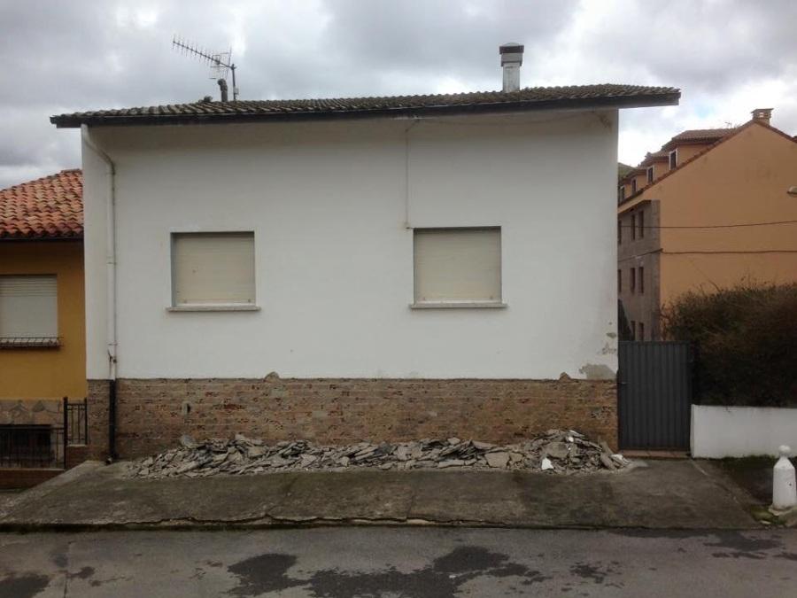 Reforma exterior casa en lastres ideas reformas viviendas - Reforma en casa ...