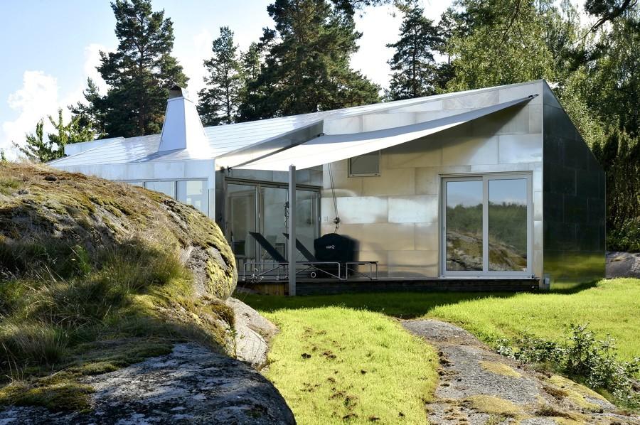 10 casas innovadoras hechas de aluminio ideas arquitectos for Casas en noruega