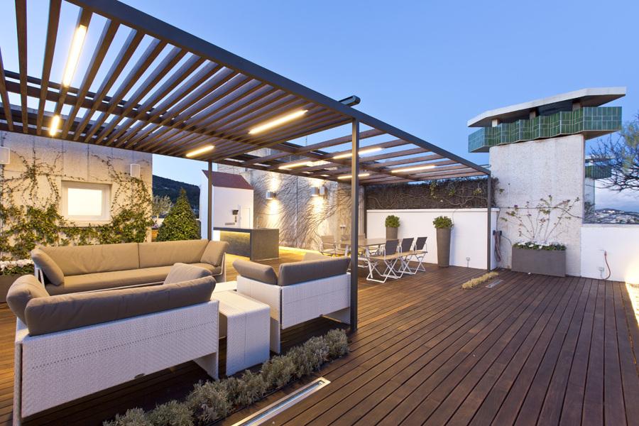 Casa en Pedralbes - Terraza