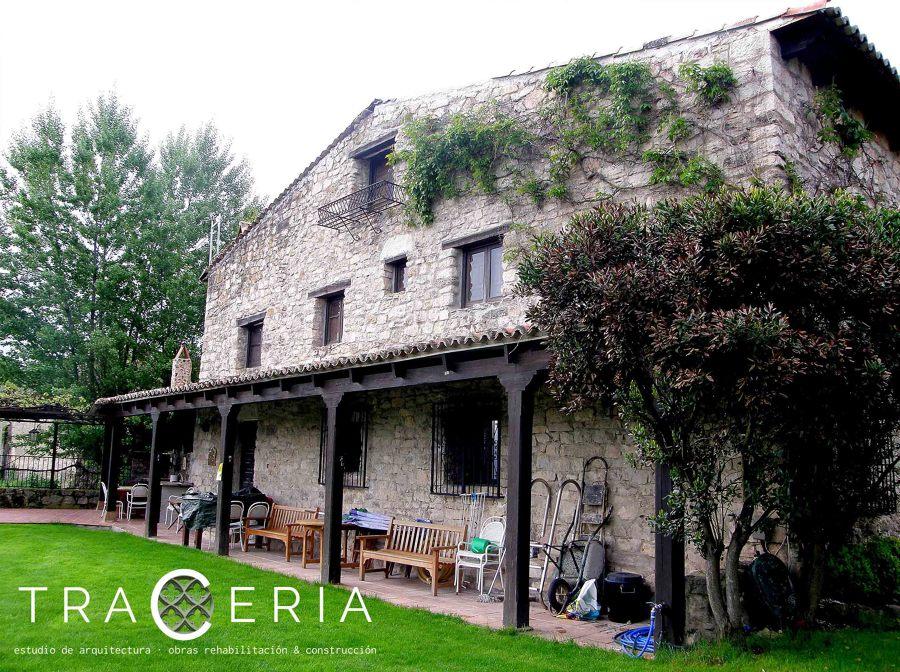 Reforma de cubierta en casa de pueblo de carabias - Casas de pueblo en guadalajara ...