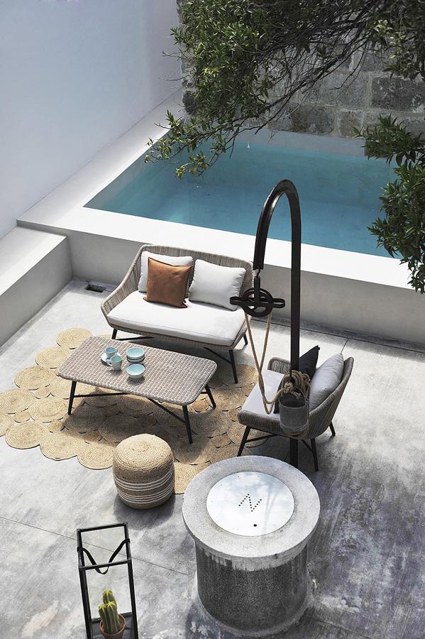 Casa en Santa Margalida: patio