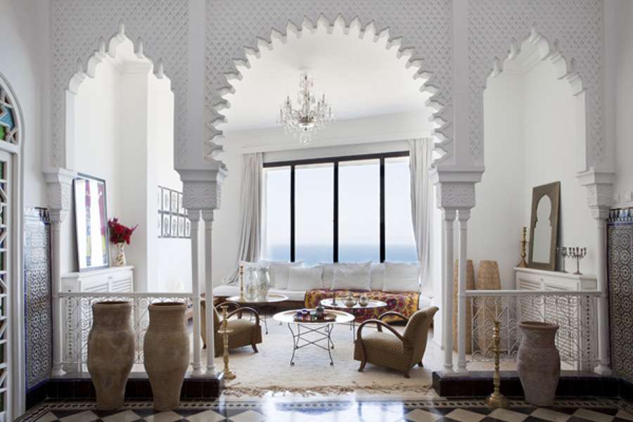Casa de estilo árabe mediterráneo