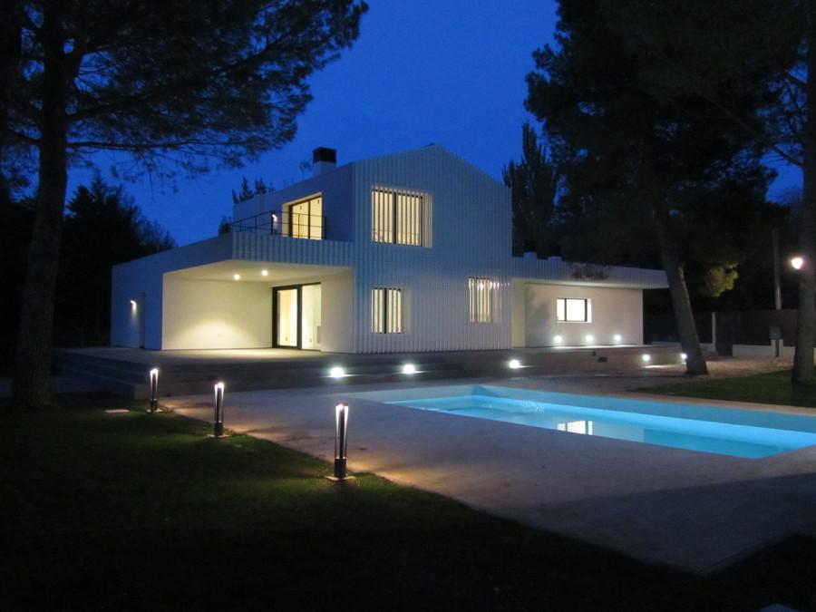 Casa F&A. Vista exterior.