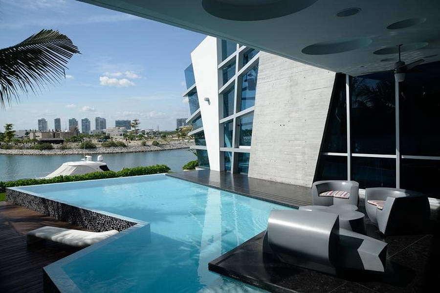 10 casas futuristas que te asombrar n hoy ideas arquitectos for Casas futuristas