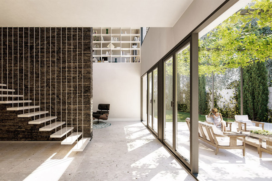 Casa Jardín - Interior Planta Baja