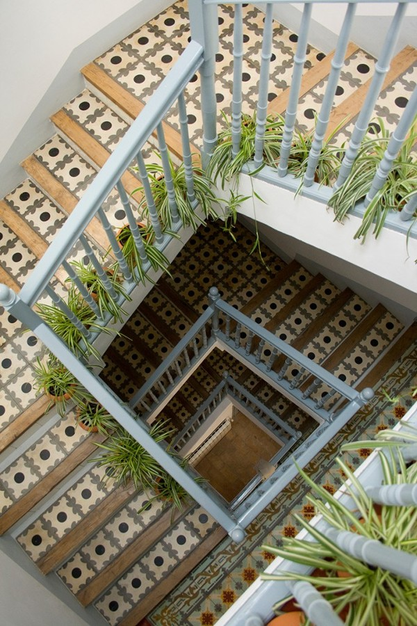 Casa Josephine escalera