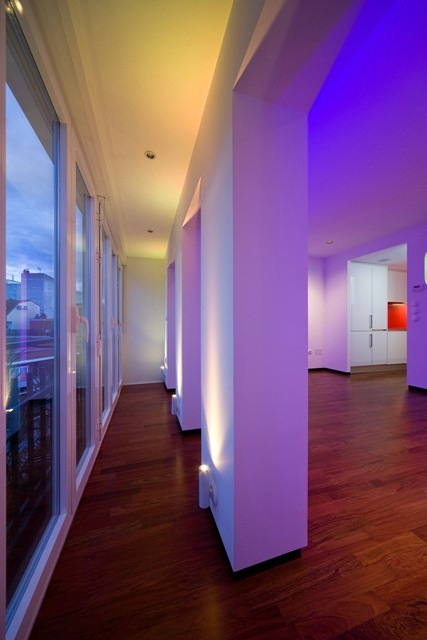 casa led collage cerramiento