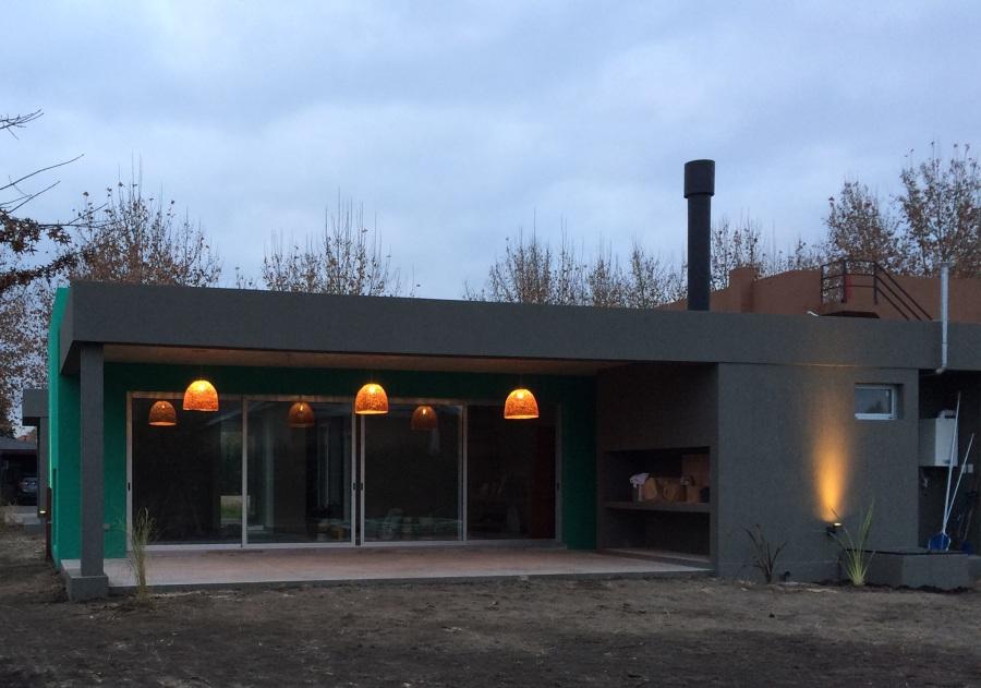 Casa moderna en medio del campo 127metros cuadrados