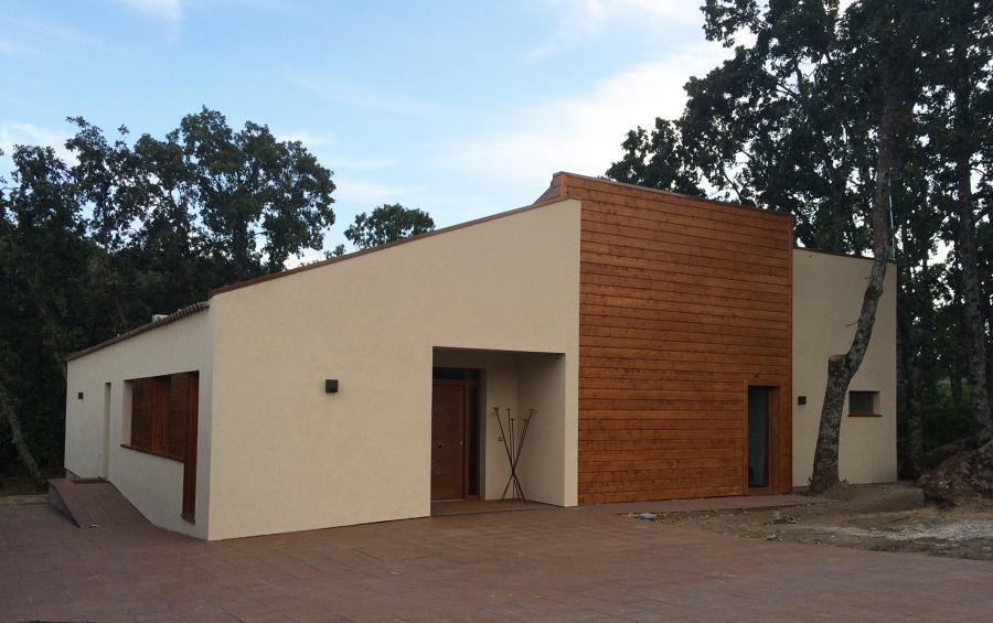 Casa pasiva de madera en El Escorial (Madrid)