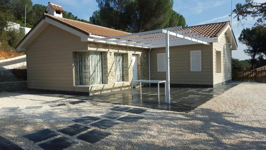 Construcci n de vivienda semi prefabricada ideas - Precio de una casa prefabricada ...