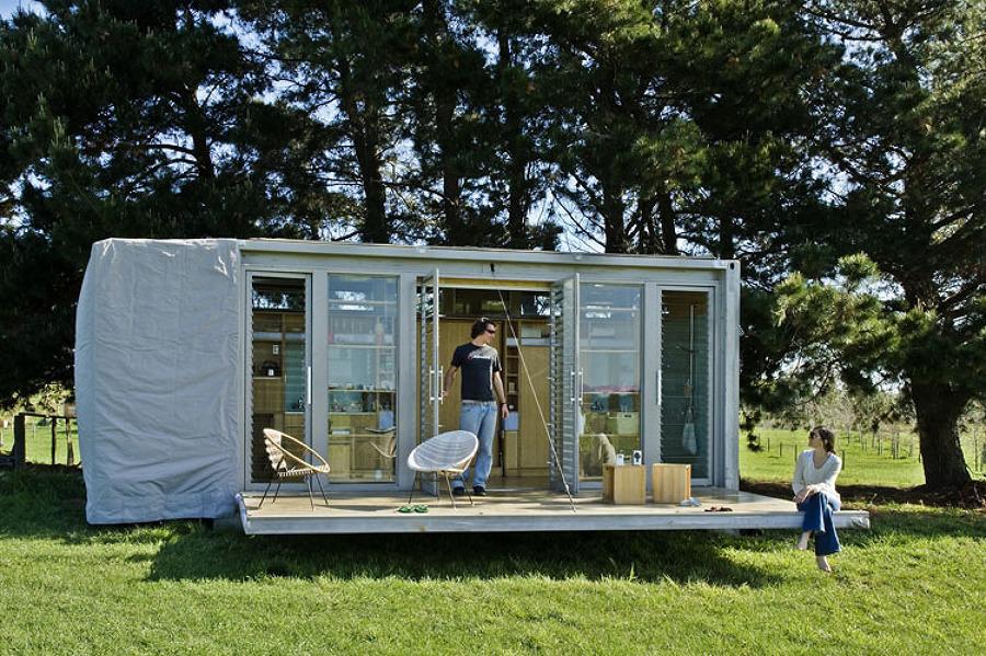 5 casas prefabricadas peque as y f ciles de montar ideas for Casa contenedor precio