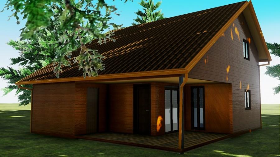 Casa prefabricada madera en wietzendorf baja sajonia - Casas prefabricadas alemania ...