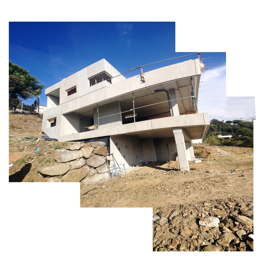 Foto casa prefabricada de hormig n en el maresme de aroom - Casas prefabricadas en las palmas ...