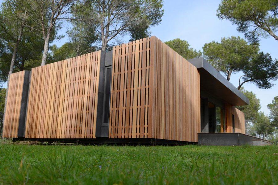 Casa prefabricada madera reciclada 2