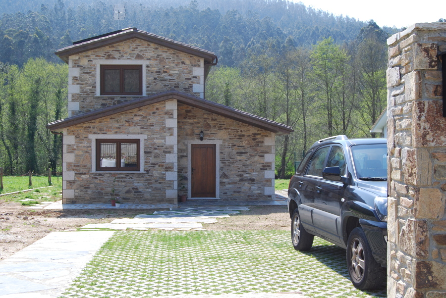Proyectos de casas rusticas dise os arquitect nicos - Diseno casa rustica ...