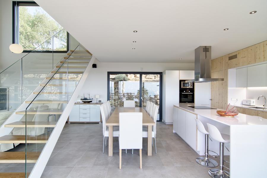 Casa Tossa de Mar - Salón - comedor - cocina