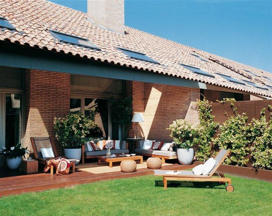 Foto casas con placas solares de maribel mart nez for Montar placas solares en casa