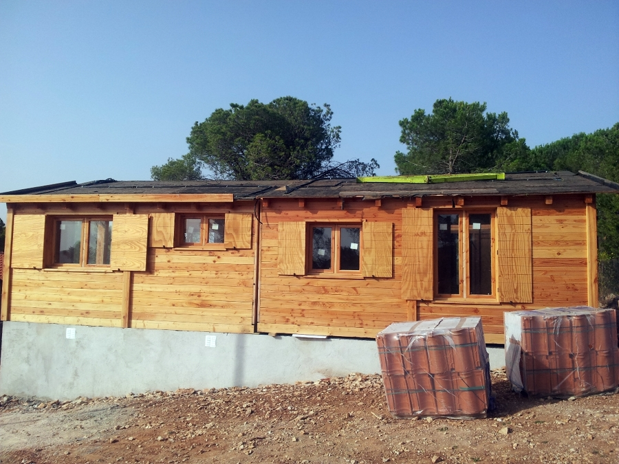 Casa de madera modular ideas construcci n casas - Construccion de casa prefabricadas ...