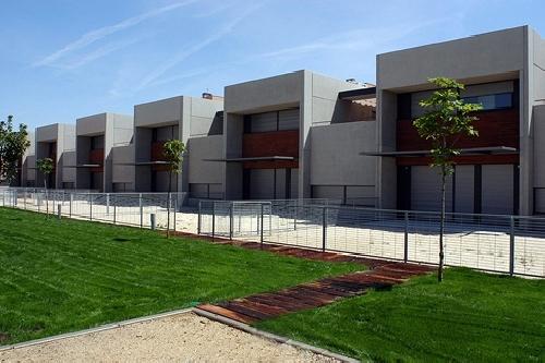 Casas Patio. Pinto