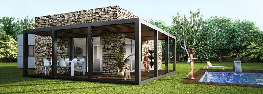 Casas Pefabricadas de Hormigón Modular.