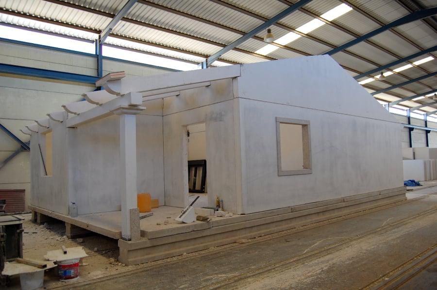 Casa industrializada hormig n ideas construcci n casas - Construccion de casas modulares ...