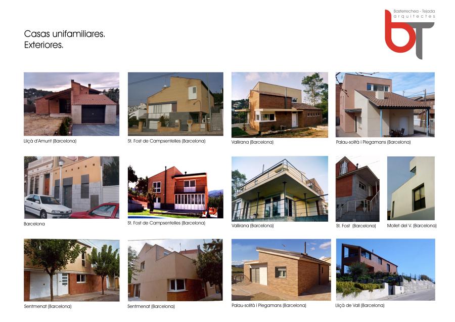 Casas unifamiliares en barcelona ideas arquitectos - Proyectos casas unifamiliares ...