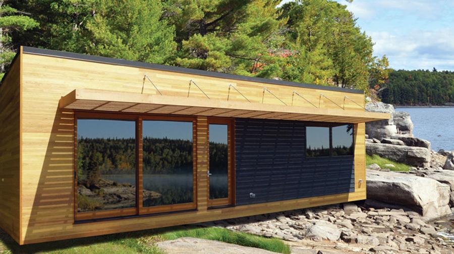 Techos p rgolas casetas casas de madera ideas for Casas de madera para guardar herramientas