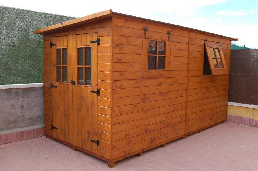 Casetas de madera a medida ideas carpinteros - Hacer caseta de madera ...