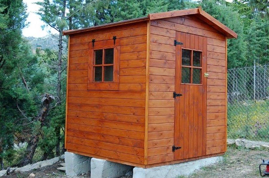 Caseta de madera de 2.00x2.00 m. - Collado Villalba (Madrid)
