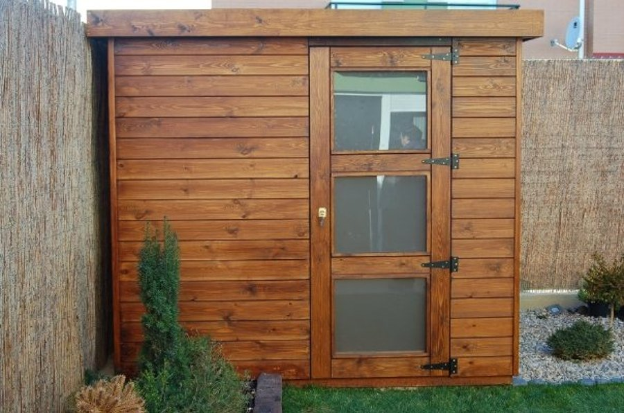 Foto caseta de madera de m peralta navarra for Casetas de madera para jardin baratas segunda mano