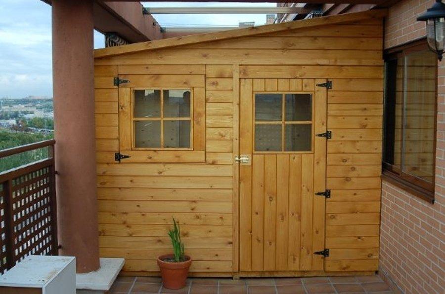 Casetas de madera a medida ideas carpinteros - Casetas de madera madrid ...
