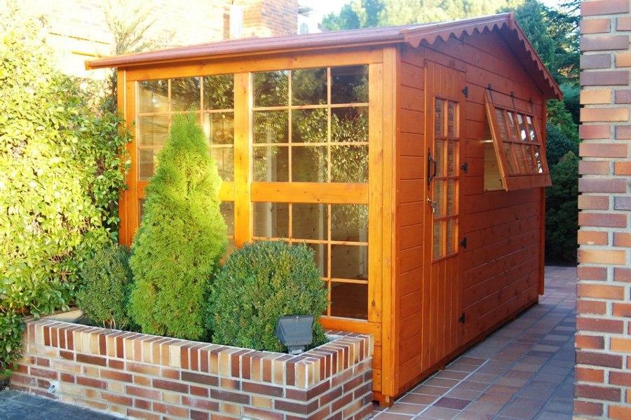 Foto caseta de madera de m urbanizaci n monte alina pozuelo de alarc n madrid - Casetas de madera madrid ...