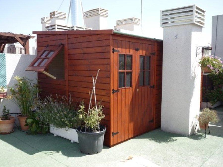 Caseta de madera de 4.50x2.60 m. - Tres Cantos (Madrid)